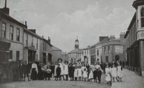 A street scene at Copperhouse in Hayle (Image: Hayle Heritage Centre)